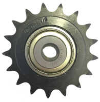 "20401708 17-Tooth, 40 Standard Roller Chain Idler Sprocket (1/2"" Bore)"