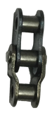 "#25 Standard Rollerless Chain Offset Link (1/4"" Pitch) - Froedge Machine"