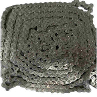 "# 25 Stainless Riveted Rollerless Split Bushing Chain (0.250"" Pitch) 10 Foot Box"