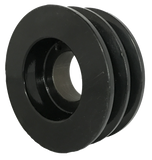 "2BK62X1 2-Groove 4L/5L/A/B Series Finished Bore Sheave (1"" Bore) - Froedge Machine & Supply Co., Inc."