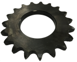 "4019W 19-Tooth, 40 Standard Roller Chain W-Series Hub Sprocket (1/2"" Pitch) - Froedge Machine & Supply Co., Inc."