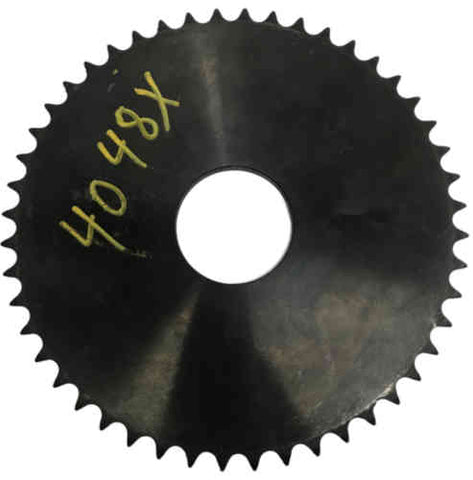 "4048X 48-Tooth, 40 Standard Roller Chain X-Series Hub Sprocket (1/2"" Pitch)"
