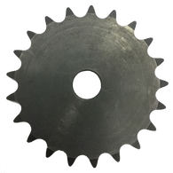 "40A21 21-Tooth, 40 Standard Roller Chain Type A Sprocket (1/2"" Pitch) - Froedge Machine & Supply Co., Inc."
