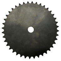 "40A40 40-Tooth, 40 Standard Roller Chain Type A Sprocket (1/2"" Pitch)"