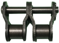 "2-Strand #50 Standard Roller Chain Offset Link (5/8"" Pitch) - Froedge Machine & Supply Co., Inc."