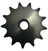 "25B13X3-8 13-Tooth, 25 Standard Roller Chain Type B Sprocket (1/4"" Pitch, 3/8"" Bore) - Froedge Machine & Supply Co., Inc."
