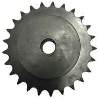 "35B25 25-Tooth, 35 Standard Roller Chain Type B Sprocket (3/8"" Pitch) - Froedge Machine & Supply Co., Inc."