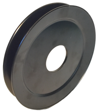 "600W 1-Groove A/B Series Pulley (6"" O.D.) - Froedge Machine & Supply Co., Inc."