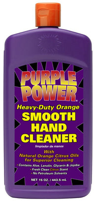 Purple Power Heavy-Duty Orange Hand Cleaner, 15 Oz