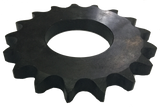 "6017X 17-Tooth, 60 Standard Roller Chain X-Series Sprocket (3/4"" Pitch) - Froedge Machine & Supply Co., Inc."