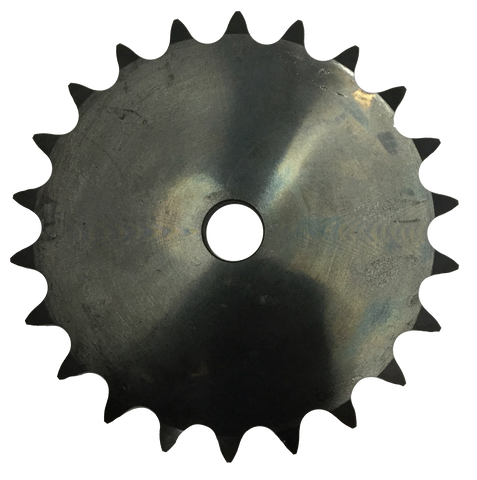 "100A22 22-Tooth, 100 Standard Roller Chain Type A Sprocket (1 1/4"" Pitch) - Froedge Machine & Supply Co., Inc."
