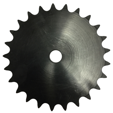 "100A25 25-Tooth, 100 Standard Roller Chain Type A Sprocket (1 1/4"" Pitch) - Froedge Machine & Supply Co., Inc."