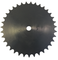 "H40A35 35-Tooth, 40 Standard Roller Chain Type A Sprocket (1/2"" Pitch) - Froedge Machine & Supply Co., Inc."