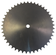 "40A45 45-Tooth, 40 Standard Roller Chain Type A Sprocket (1/2"" Pitch) - Froedge Machine & Supply Co., Inc."