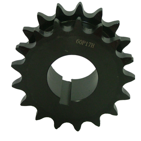 "DS60P17 17-Tooth, 60 Standard Roller Chain Split Taper Double Single Sprocket (3/4"" Pitch) - Froedge Machine & Supply Co., Inc."
