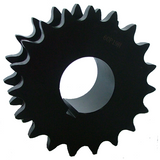 "DS60P19 19-Tooth, 60 Standard Roller Chain Split Taper Double Single Sprocket (3/4"" Pitch) - Froedge Machine"