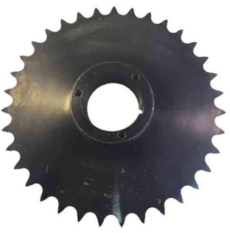 "80Q35 35-Tooth, 80 Standard Roller Chain Split Taper Sprocket (1"" Pitch)"