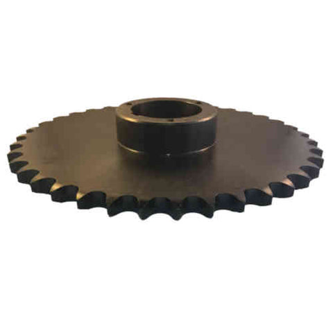 "80Q38 38-Tooth, 80 Standard Roller Chain Split Taper Sprocket (1"" Pitch)"