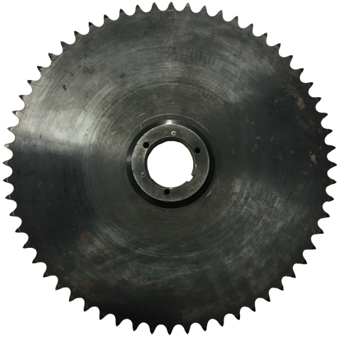 "80Q60 60-Tooth, 80 Standard Roller Chain Split Taper Sprocket (1"" Pitch) - Froedge Machine & Supply Co., Inc."
