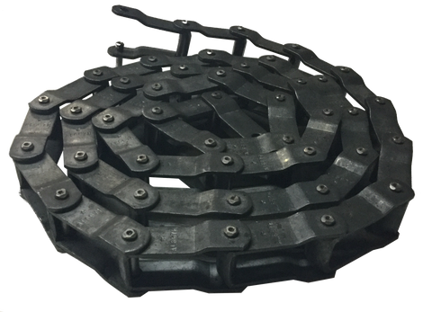 "WR78 Welded Steel Chain (2.609"" Pitch) - SOLD BY THE FOOT - Froedge Machine & Supply Co., Inc."