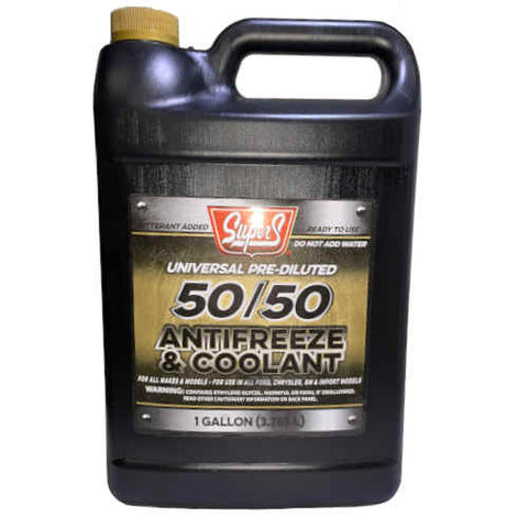 Universal Pre-Diluted 50/50 Antifreeze and Coolant