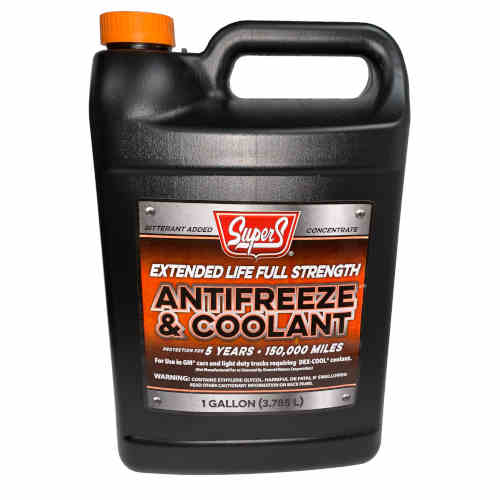 Extended Life Full Strength Antifreeze and Coolant, 1 Gal.