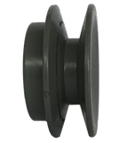 "MB26X1-2 1-Groove 4L/5L/A/B Series Finished Bore Sheave (1/2"" Bore) - Froedge Machine & Supply Co., Inc."