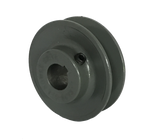 "BK47X1 1-Groove 4L/5L/A/B Series Finished Bore Sheave (1"" Bore) - Froedge Machine & Supply Co., Inc."