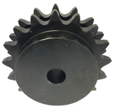 "D100B17 17-Tooth, 100 Standard Roller Chain Type B Double Sprocket (1 1/4"" Pitch) - Froedge Machine & Supply Co., Inc."