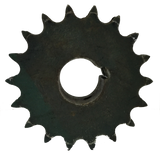 "D80Q18 18-Tooth, 80 Standard Roller Chain Split Taper Double Sprocket (1"" Pitch) - Froedge Machine & Supply Co., Inc."