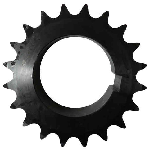 "D80R20 20-Tooth, 80 Standard Roller Chain Split Taper Double Sprocket (1"" Pitch)"