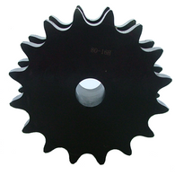 "Froedge DS80A16 16-Tooth, 80 Standard Roller Chain Type A Double Single Sprocket (1"" Pitch) - Froedge Machine & Supply Co., Inc."