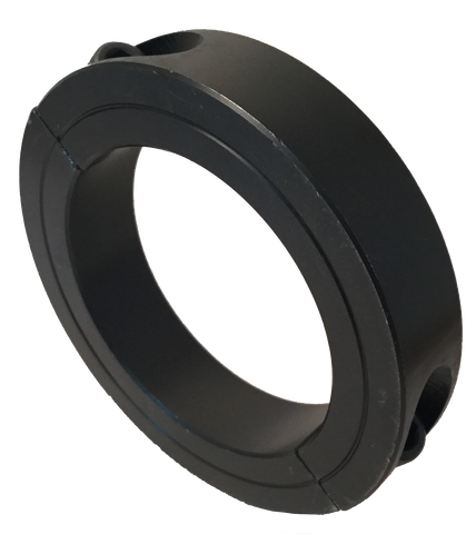 "SET13-16-2PC Black Oxide Double Split Collar (13/16"" Bore, 1 5/8"" O.D.) - Froedge Machine & Supply Co., Inc."