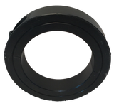 "SET716-2PC Black Oxide Double Split Collar (7/16"" Bore, 15/16"" O.D.) - Froedge Machine & Supply Co., Inc."