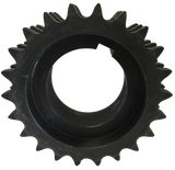 "E80R22H 22-Tooth, 80 Standard Roller Chain Split Taper Triple Sprocket (1"" Pitch) - Froedge Machine & Supply Co., Inc."