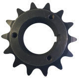 "H100Q14 14-Tooth, 100 Standard Roller Chain Split Taper Sprocket (1 1/4"" Pitch) - Froedge Machine & Supply Co., Inc."