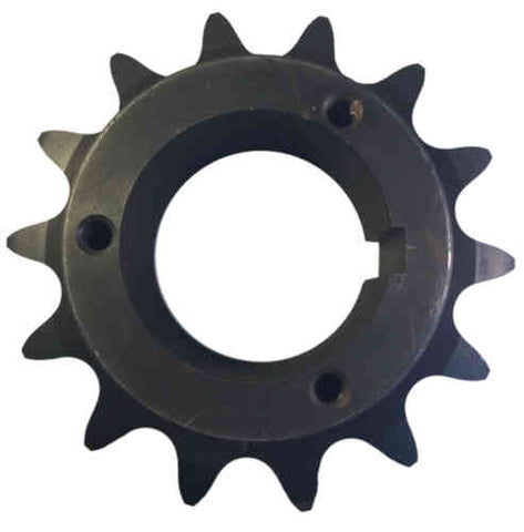 "H100Q14 14-Tooth, 100 Standard Roller Chain Split Taper Sprocket (1 1/4"" Pitch)"