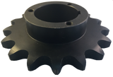 "H100Q17 17-Tooth, 100 Standard Roller Chain Split Taper Sprocket (1 1/4"" Pitch) - Froedge Machine & Supply Co., Inc."