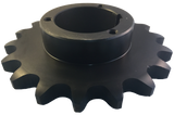 "H100Q18 18-Tooth, 100 Standard Roller Chain Split Taper Sprocket (1 1/4"" Pitch) - Froedge Machine & Supply Co., Inc."
