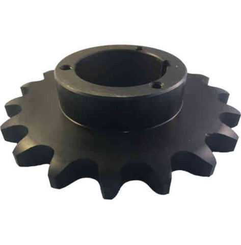 "H100Q18 18-Tooth, 100 Standard Roller Chain Split Taper Sprocket (1 1/4"" Pitch)"