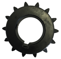 "H4014X1 14-Tooth, 40 Standard Roller Chain Finished Bore Sprocket (1/2"" Pitch, 1"" Bore) - Froedge Machine & Supply Co., Inc."