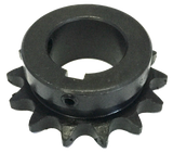 "H4014X118 14-Tooth, 40 Standard Roller Chain Finished Bore Sprocket (1/2"" Pitch, 1 1/8"" Bore) - Froedge Machine & Supply Co., Inc."