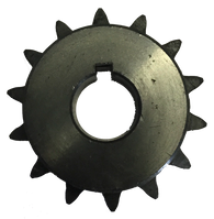 "H4014X34 14-Tooth, 40 Standard Roller Chain Finished Bore Sprocket (1/2"" Pitch, 3/4"" Bore) - Froedge Machine & Supply Co., Inc."