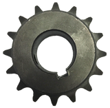 "H4016X114 16-Tooth, 40 Standard Roller Chain Finished Bore Sprocket (1/2"" Pitch, 1 1/4"" Bore) - Froedge Machine & Supply Co., Inc."