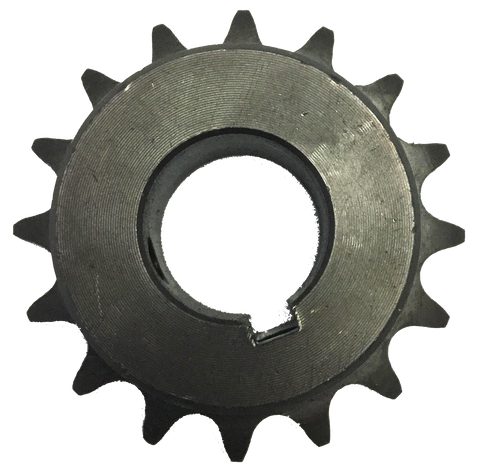 "H5016X1 16-Tooth, 50 Standard Roller Chain Finished Bore Sprocket (5/8"" Pitch, 1"" Bore) - Froedge Machine & Supply Co., Inc."