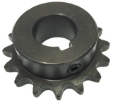 "H4016X1 16-Tooth, 40 Standard Roller Chain Finished Bore Sprocket (1/2"" Pitch, 1"" Bore) - Froedge Machine & Supply Co., Inc."