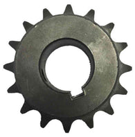 "H4016X114 16-Tooth, 40 Standard Roller Chain Finished Bore Sprocket (1/2"" Pitch, 1 1/4"" Bore)"