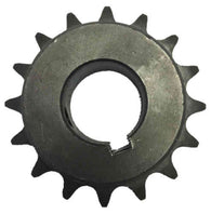 "H4016X1 16-Tooth, 40 Standard Roller Chain Finished Bore Sprocket (1/2"" Pitch, 1"" Bore)"