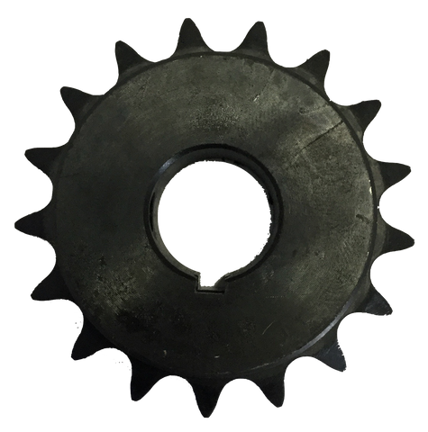 "H4017X34 17-Tooth, 40 Standard Roller Chain Finished Bore Sprocket (1/2"" Pitch, 3/4"" Bore) - Froedge Machine & Supply Co., Inc."