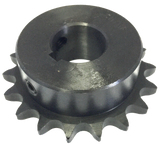 "H4018X34 18-Tooth, 40 Standard Roller Chain Finished Bore Sprocket (1/2"" Pitch, 3/4"" Bore) - Froedge Machine & Supply Co., Inc."